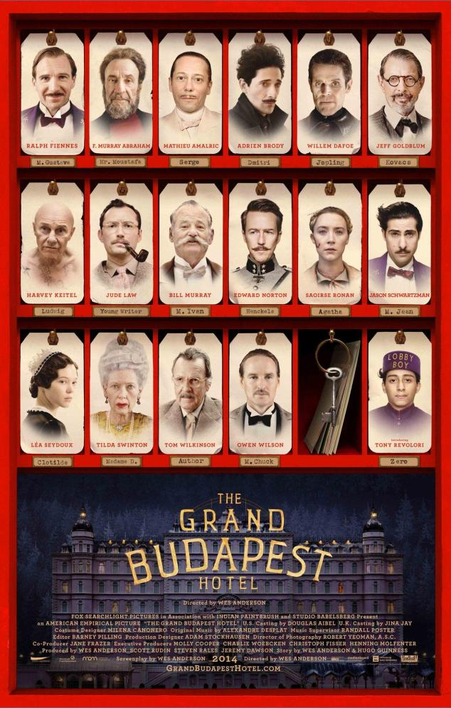 53. Grand Budapest Hotel